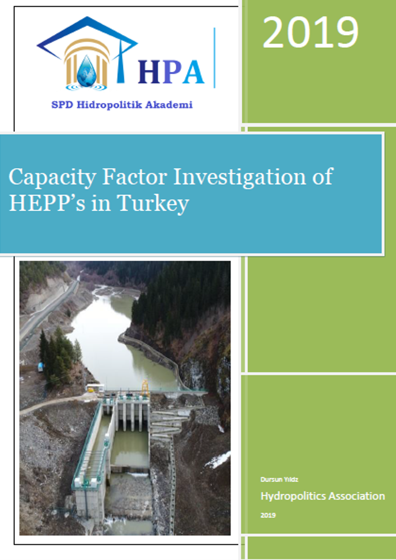Capacity Factor Investigation of HEPP's in Turkey