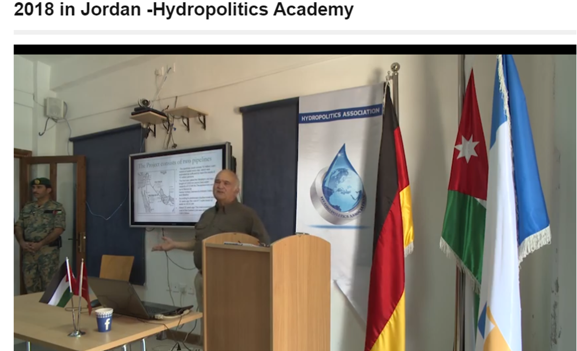 The International Expert Roundtable meeting held on August 28 2018 in Jordan _Hydropolitics Academy