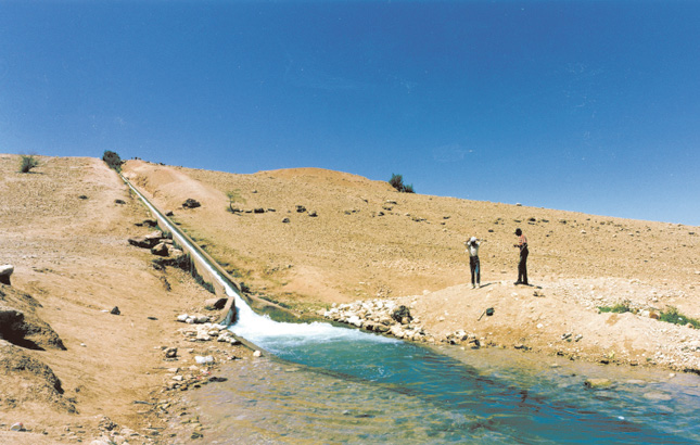 To make peace in the Middle East focus first on water