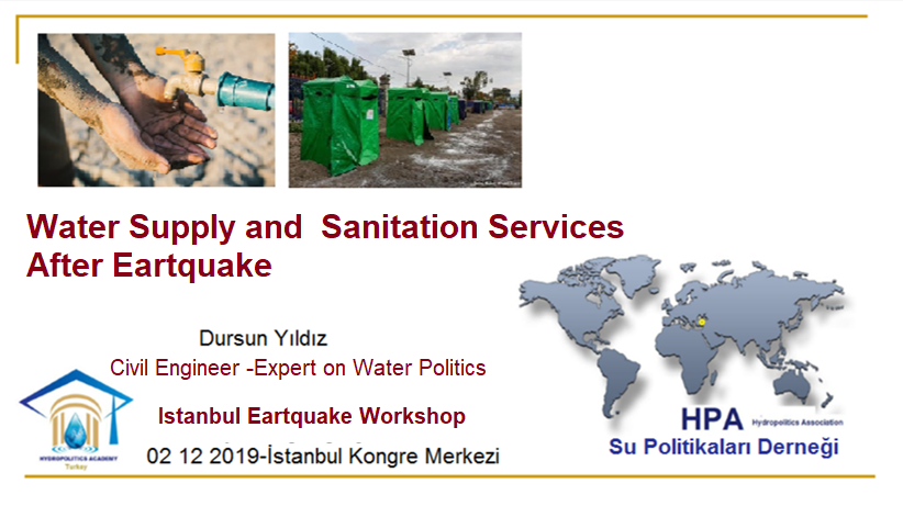 HPA Attended Istanbul  Earthquake Workshop held on 2_3 December 2019