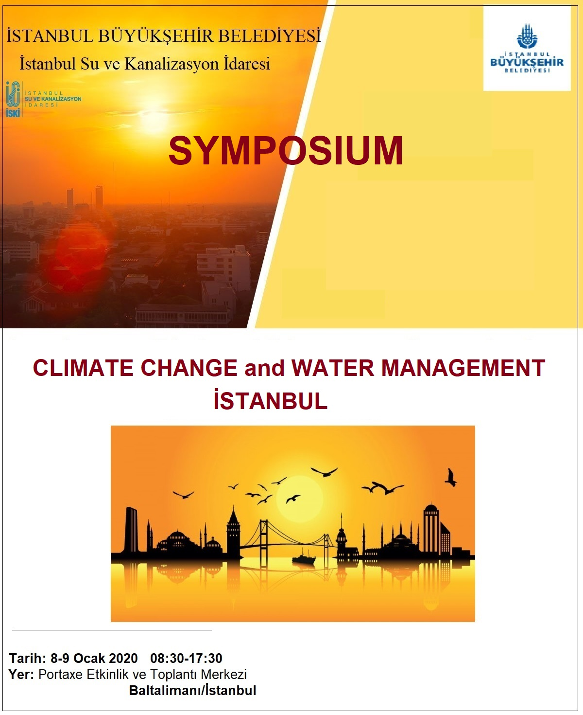 HPA Participated in Istanbul  Climate Change and Water Management Symposium held on 8_9  January 2020