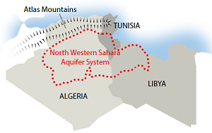 Broad cross_sectoral cooperation urgently needed to address the degradation of North Africa's largest aquifer shared by Algeria Libya and Tunisia