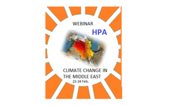 HPA Hydropolitics Academy Center will host an international webinar on Climate Change Effects in the Middle East _Euphrates_Tigris Basin . 23_24th February 2021