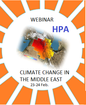 HPA Webinar on Climate Change in the Middle East