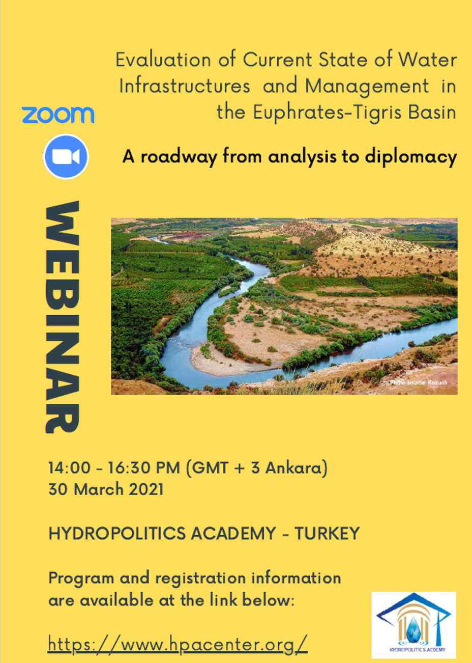 EVALUATION  of  CURRENT STATE of WATER INFRASTRUCTURE and MANAGEMENT in the EUPHRATES _TIGRIS BASIN